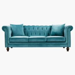 R2R Three Seater Tufted Back And Side Design Upholstery