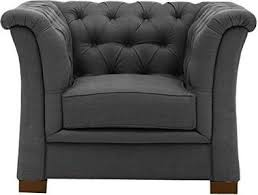 R2R SINGLE SEATER TUFTED BACK AND SIDE DESIGN UPHOLSTERY