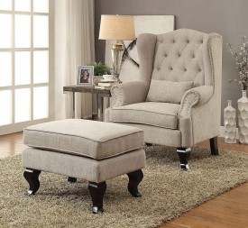 SHOPATHOME  LIVING ROOM CHAIRS BEIGE