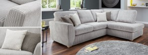 Mia sofa Three Seater collection in Charcoal